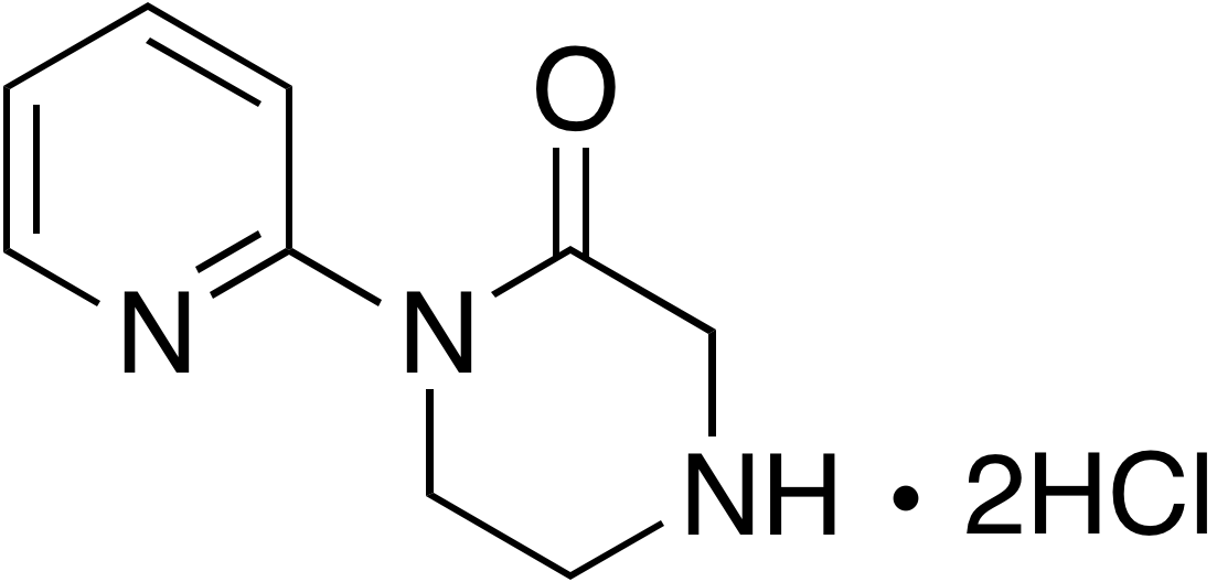 1-Pyridin-2-yl-piperazin-2-one dihydrochloride