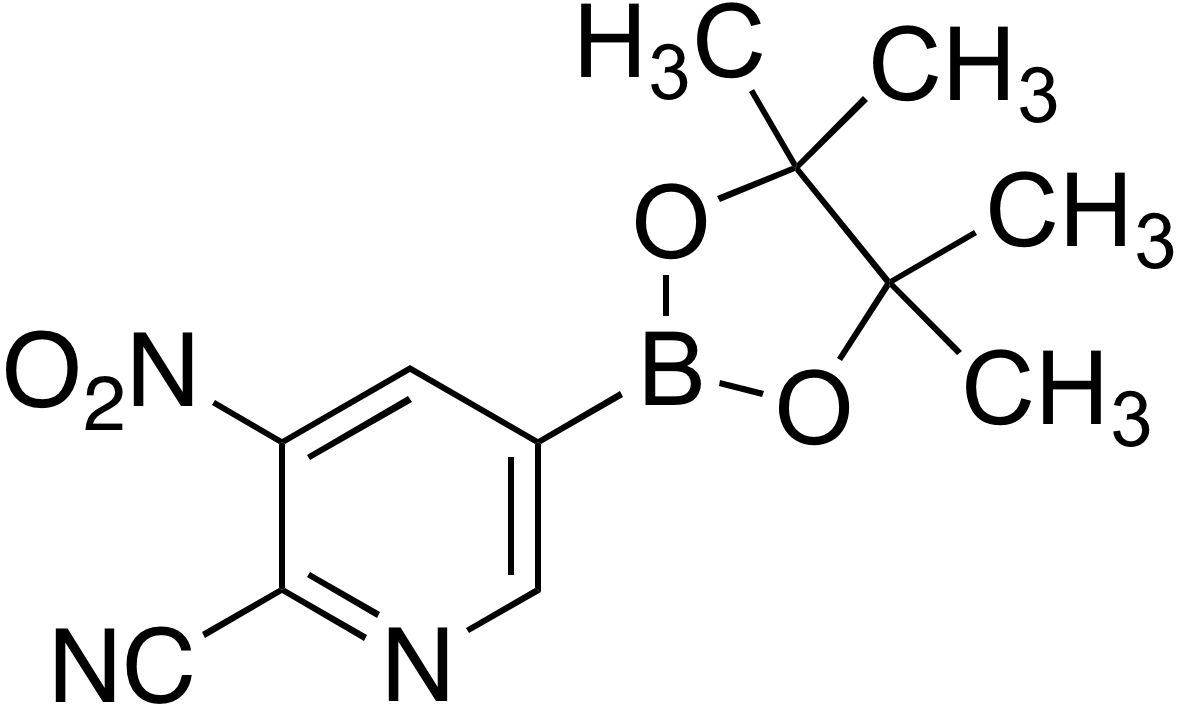 6-Cyano-5-nitropyridine-3-boronic acid pinacol ester