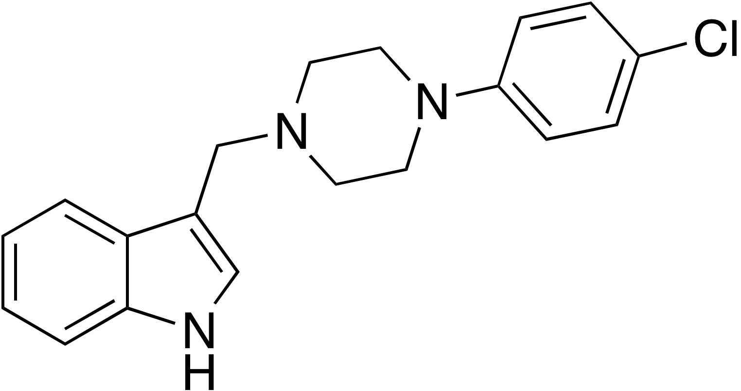 3-[4-(4-Chlorophenyl)piperazin-1-ylmethyl]-1H-indole