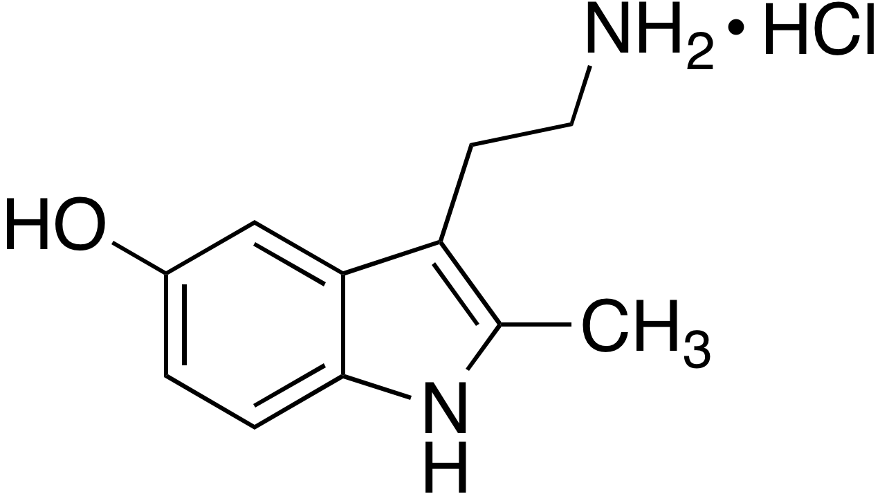 2-Methyl-5-hydroxytryptamine hydrochloride