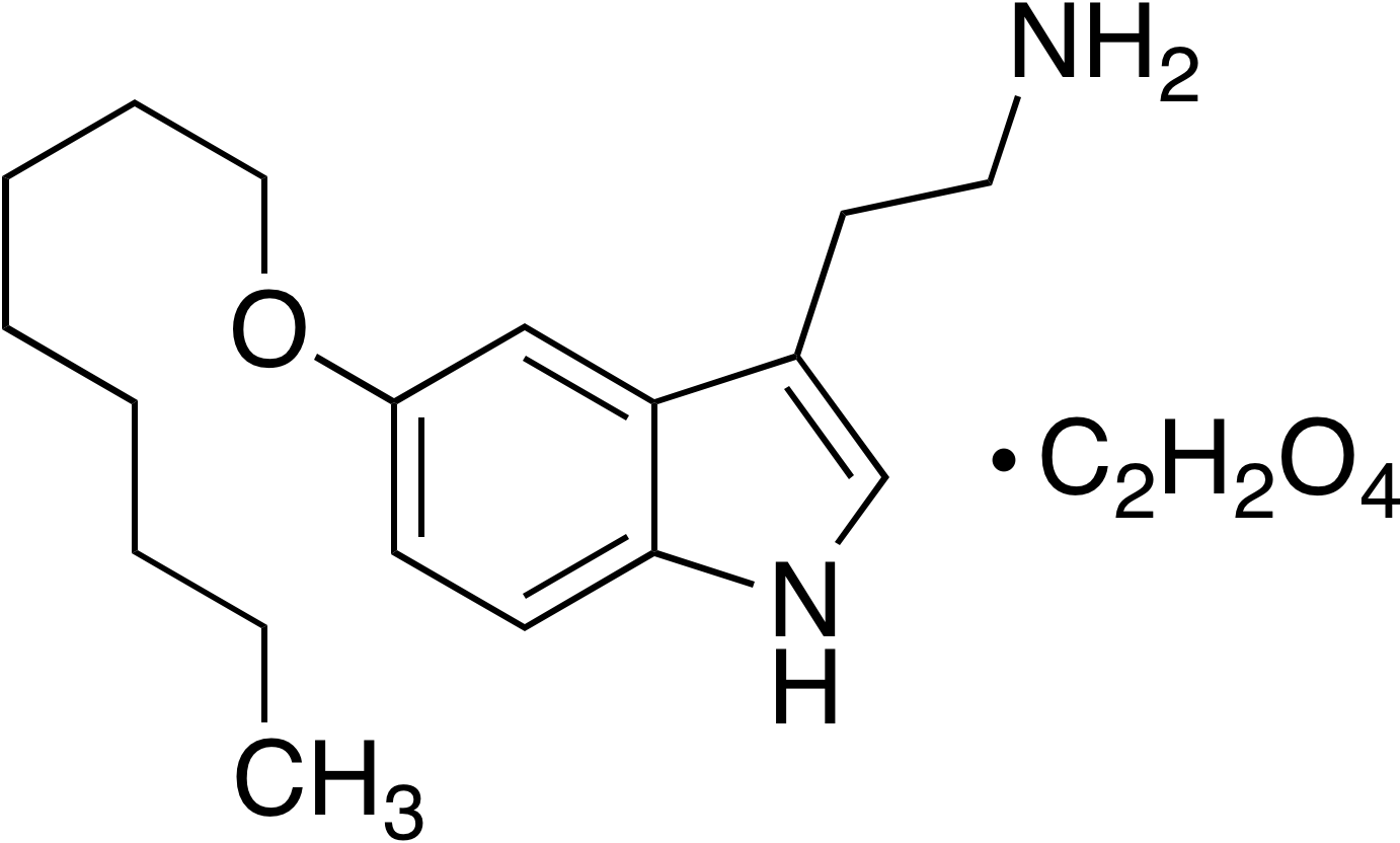 5-Octyloxytryptamine oxalate