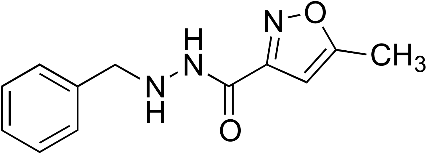 5-Methyl-3-isoxazole-carboxylic acid 2-benzylhydrazide