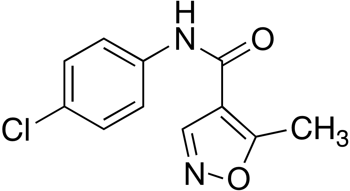 5-Methylisoxazole-4-carboxylic acid 4-chloroanilide