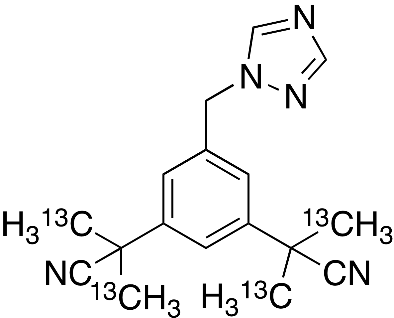 Anastrozole-<sup>13</sup>C<sub>4</sub>