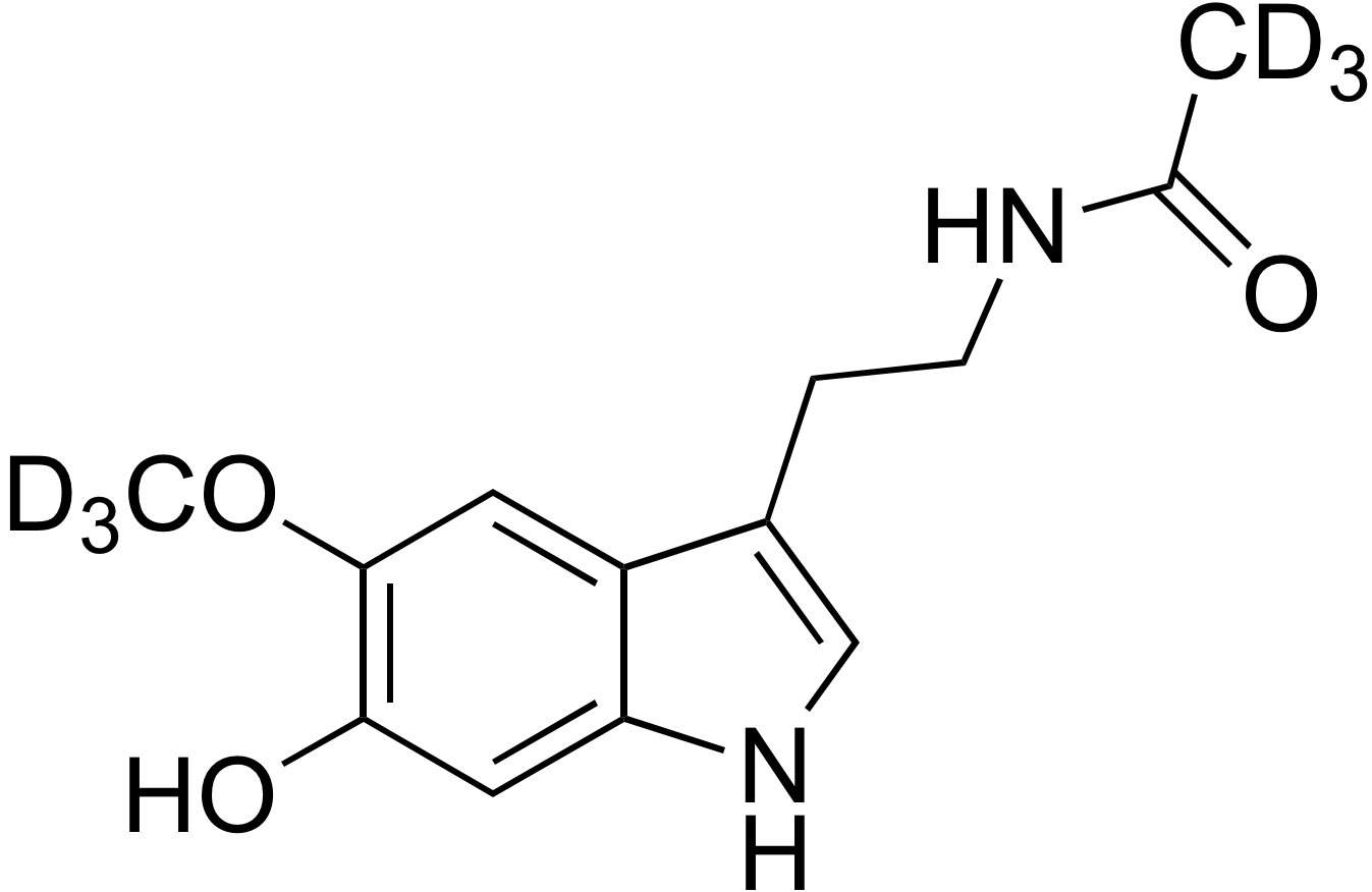 6-Hydroxymelatonin-d<sub>6</sub>