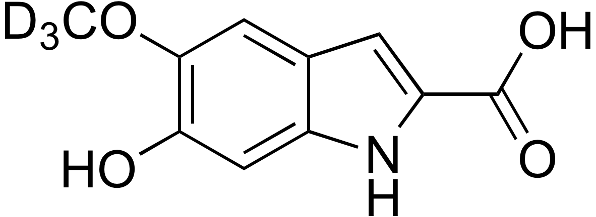 6-Hydroxy-5-methoxy-d<sub>3</sub>-indole-2-carboxylic acid