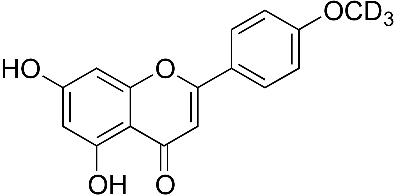 Acacetin-d<sub>3</sub>