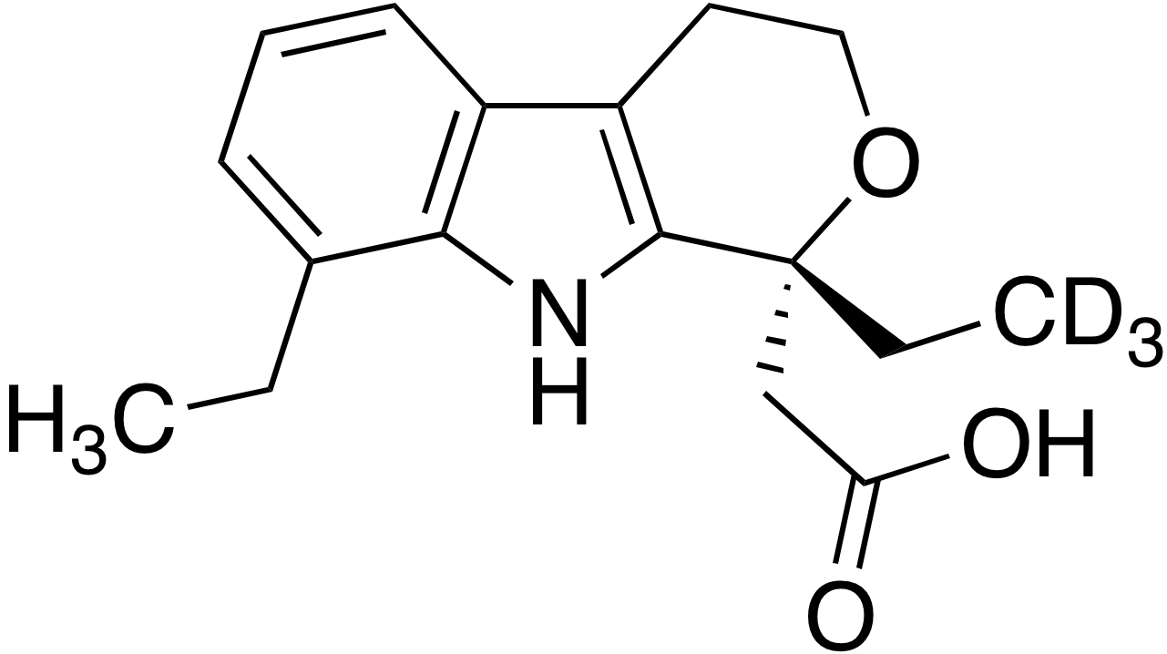 (R)-(-)-Etodolac-d<sub>3</sub>