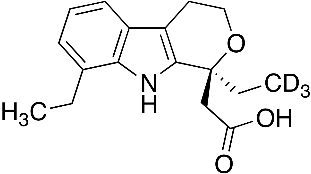 (S)-(+)-Etodolac-d<sub>3</sub>
