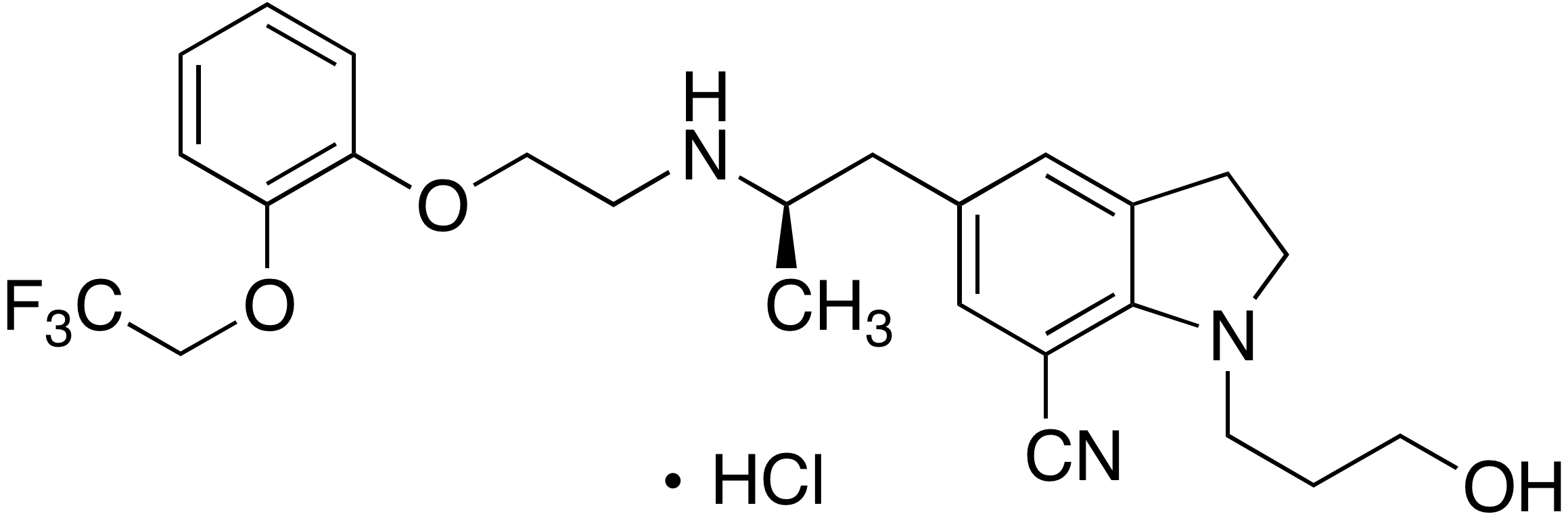 Silodosin impurity 2 (Nitrile impurity)
