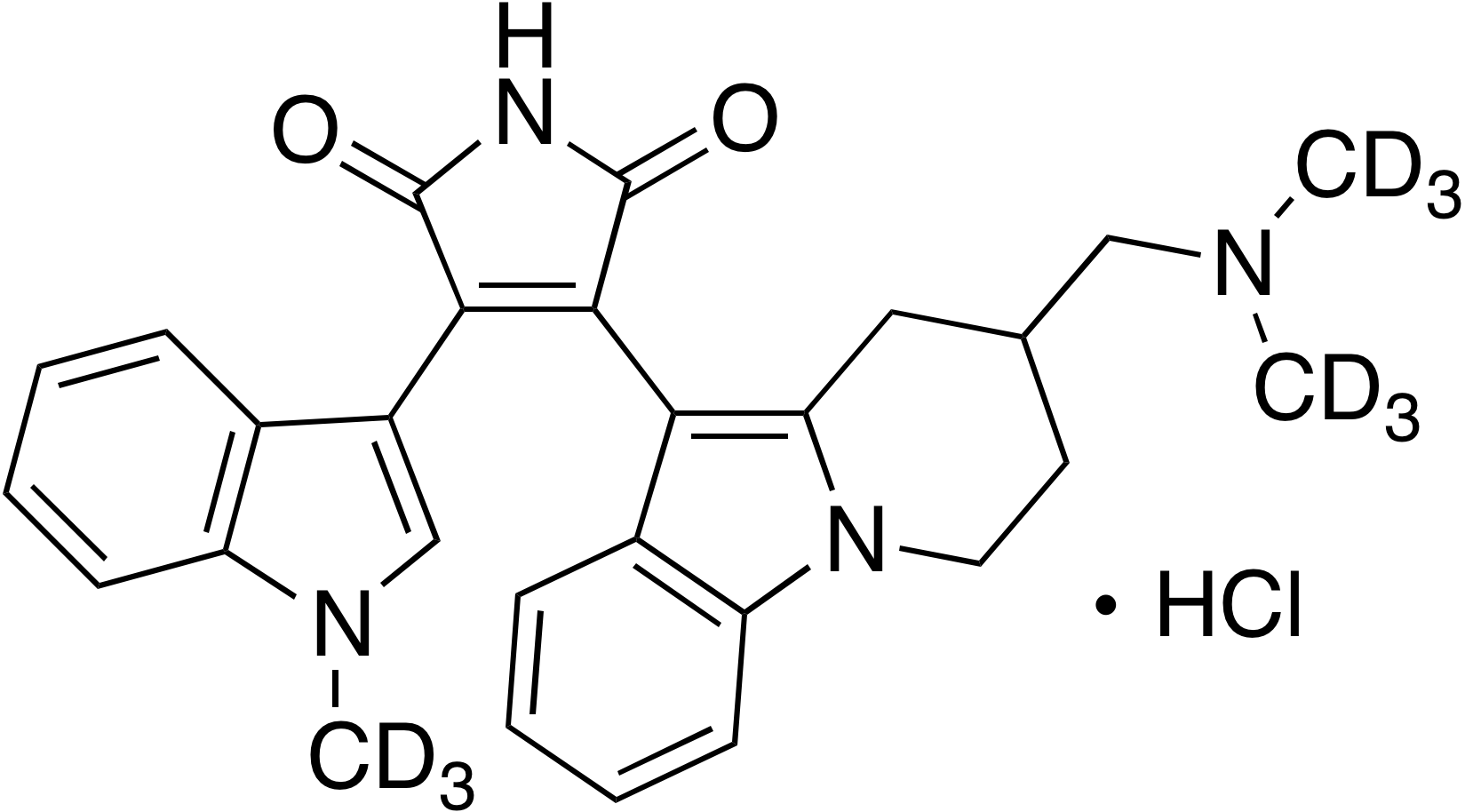 Bisindolylmaleimide XI-d<sub>9</sub> hydrochloride