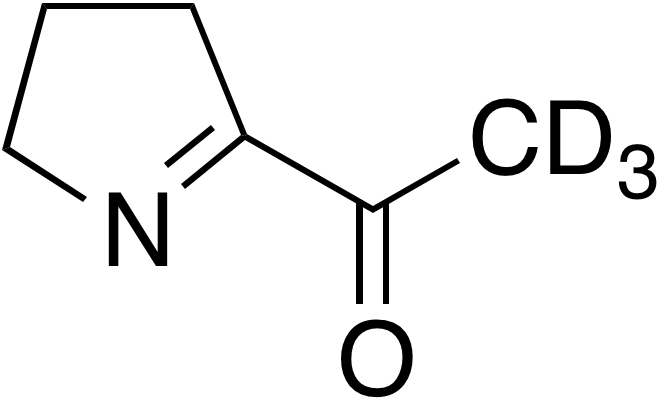 2-Acetyl-1-pyrrolidine-d<sub>3</sub>