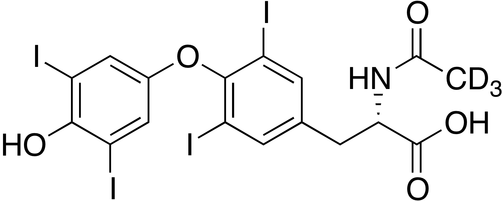 Levothyroxine-d<sub>3</sub> USB E impurity
