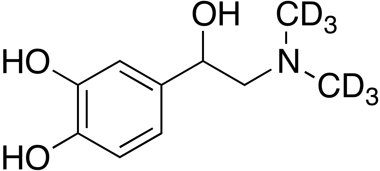 rac-N-Methyl epinephrine-d<sub>6</sub>