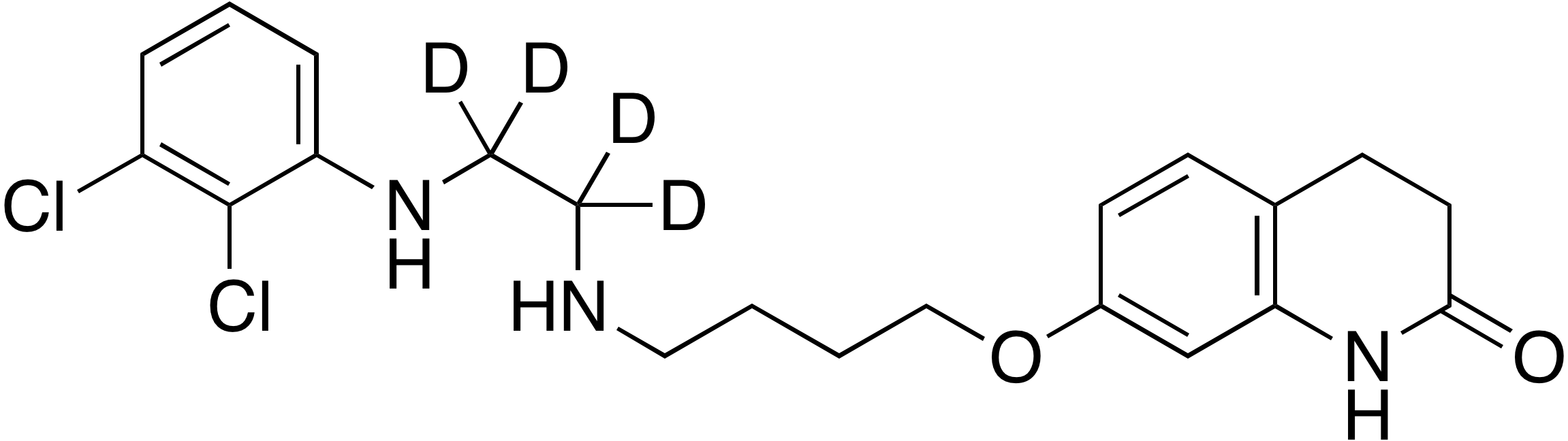 Aripiprazole desethylene-d<sub>4</sub> impurity