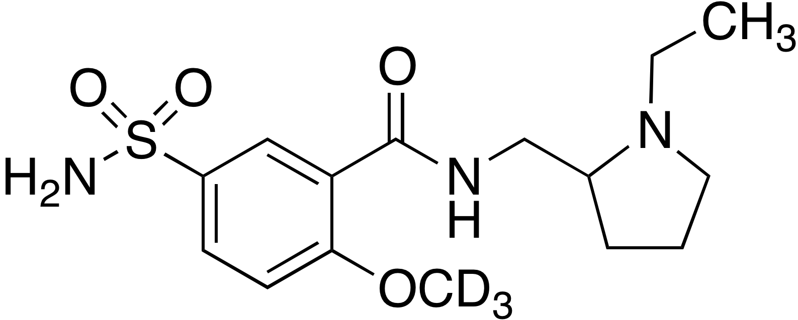 Sulpiride-d<sub>3</sub>