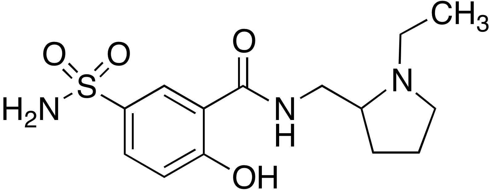 Desmethyl sulpiride