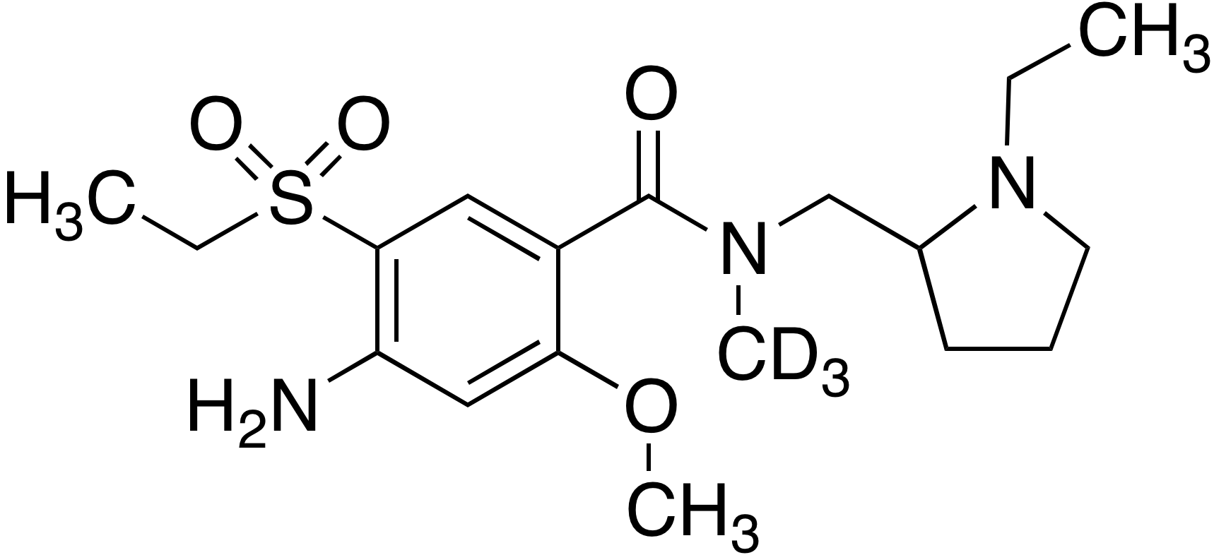 N-Methyl amisulpride-d<sub>3</sub>