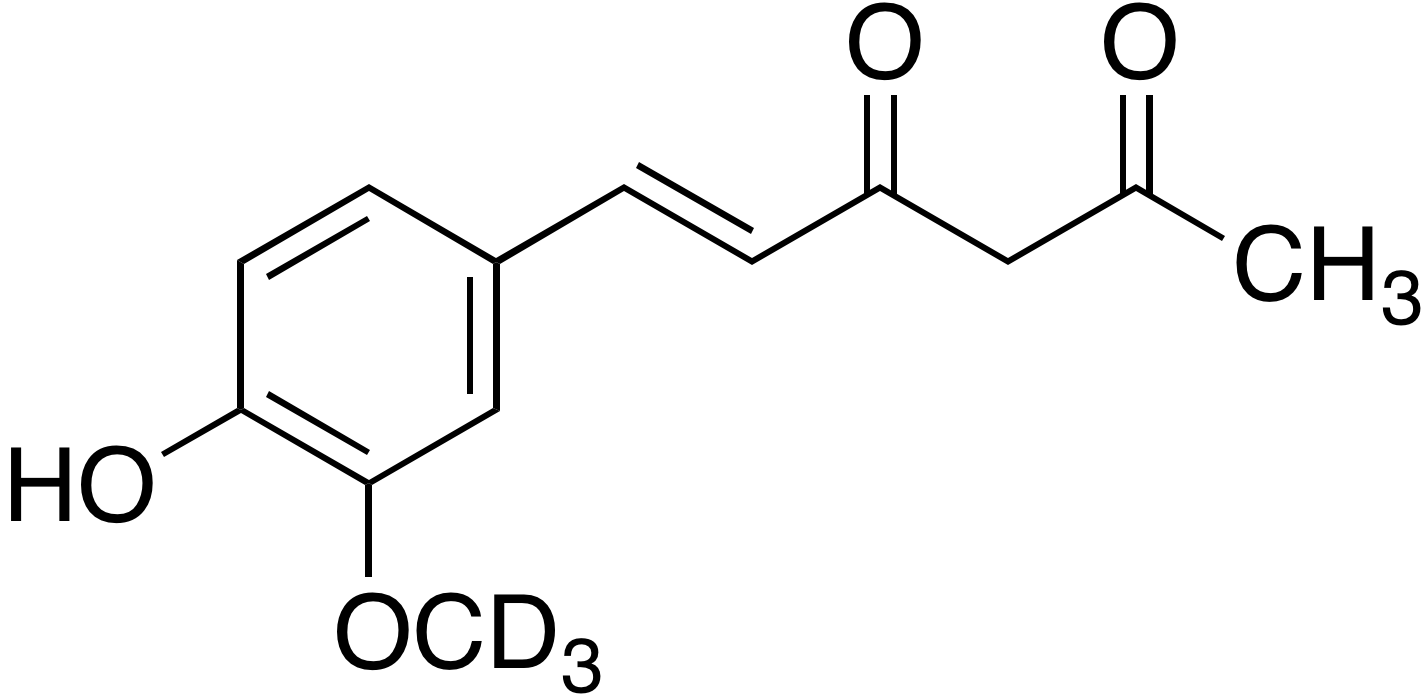 (E)-6-(4-Hydroxy-3-methoxy-d<sub>3</sub> phenyl)hex-5-ene-2,4-dione