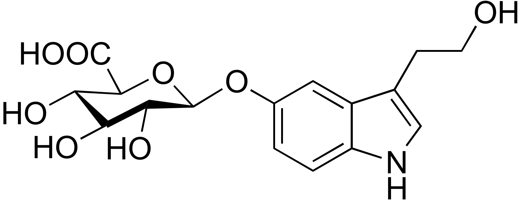 5-Hydroxytryptophol glucuronide