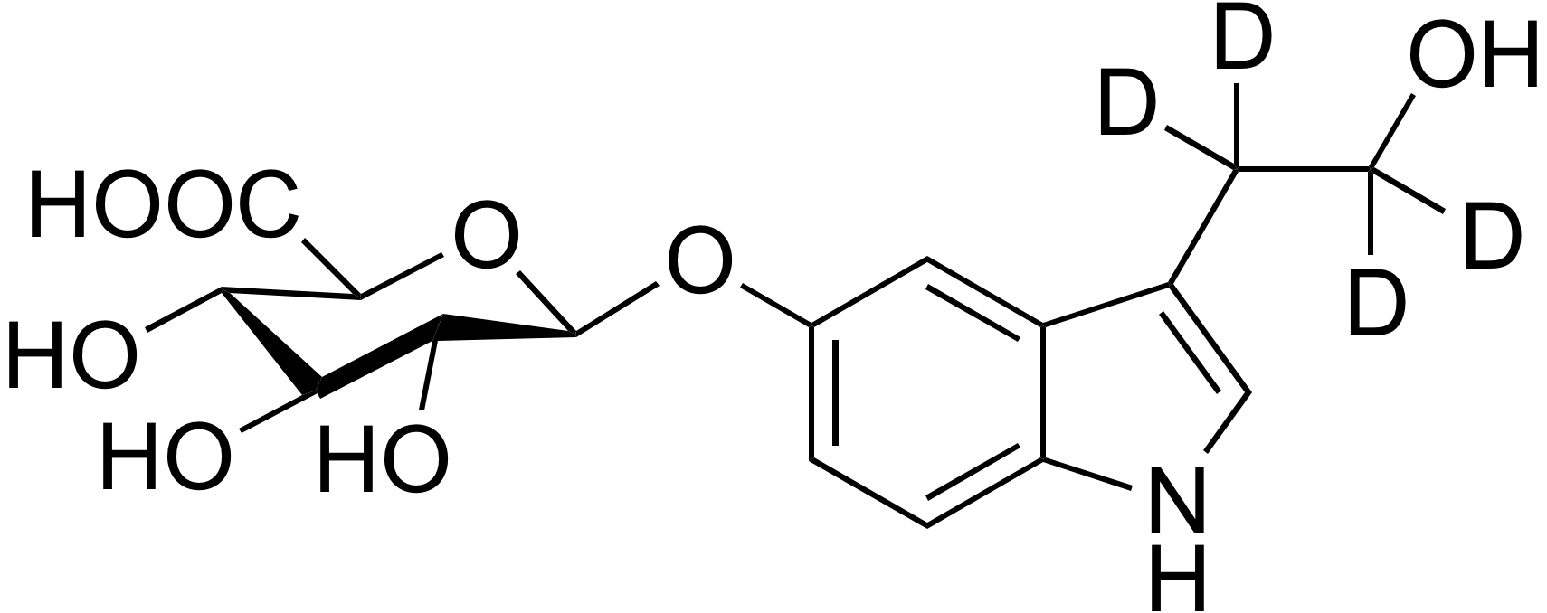 5-Hydroxytryptophol-d4 β-D-glucuronide