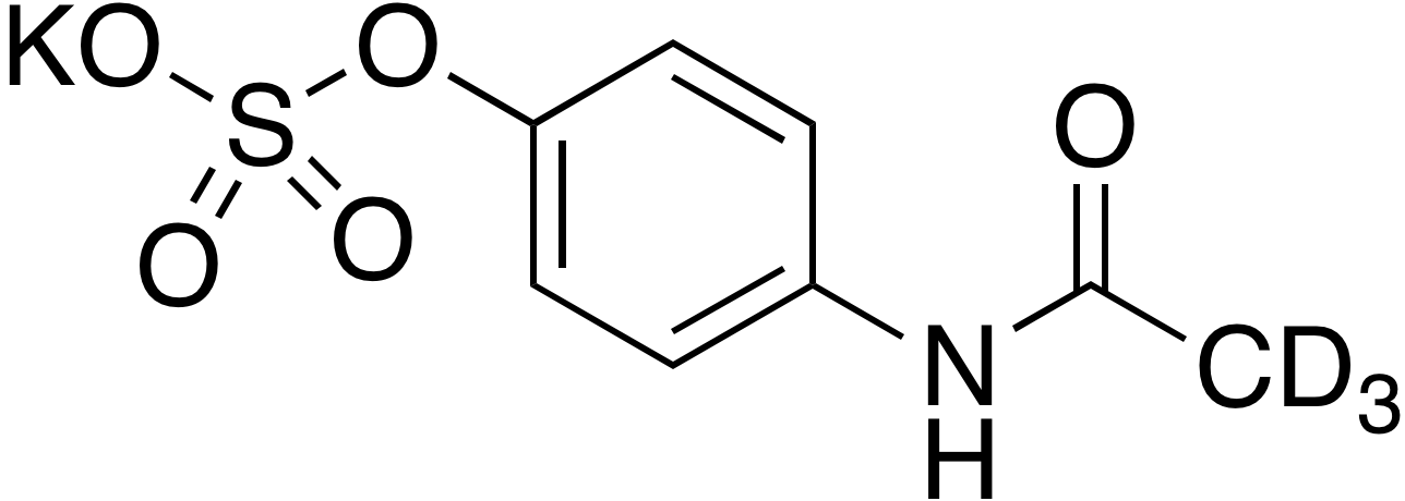 4-Acetaminophen-d<sub>3</sub> sulfate potassium salt