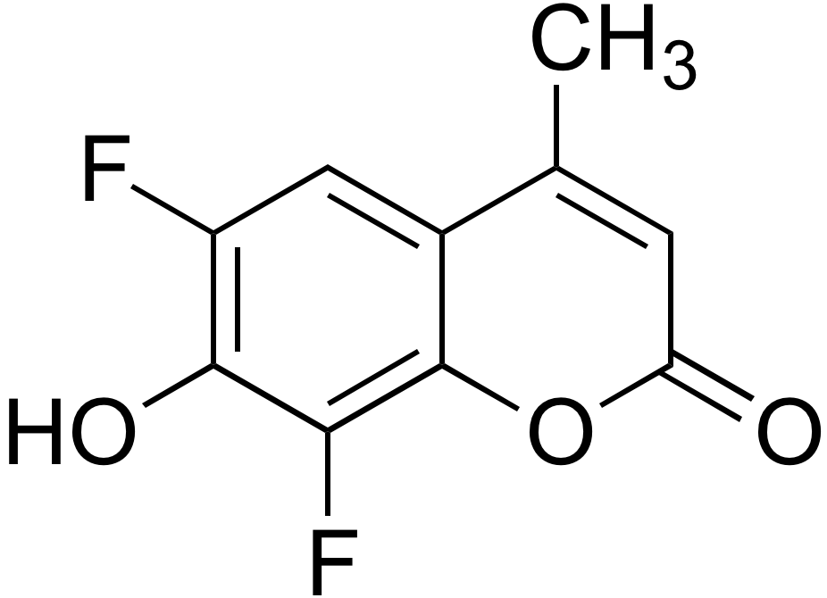 6,8-Difluoro-7-hydroxy-4-methylcoumarin(DIFMU)