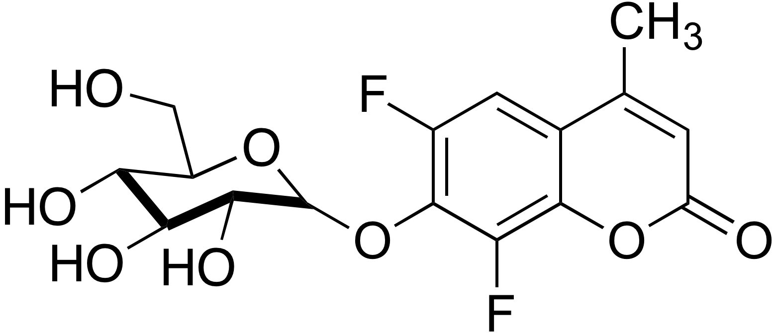 6,8-Difluoro-4-methylumbelliferyl beta-D-glucopyranoside