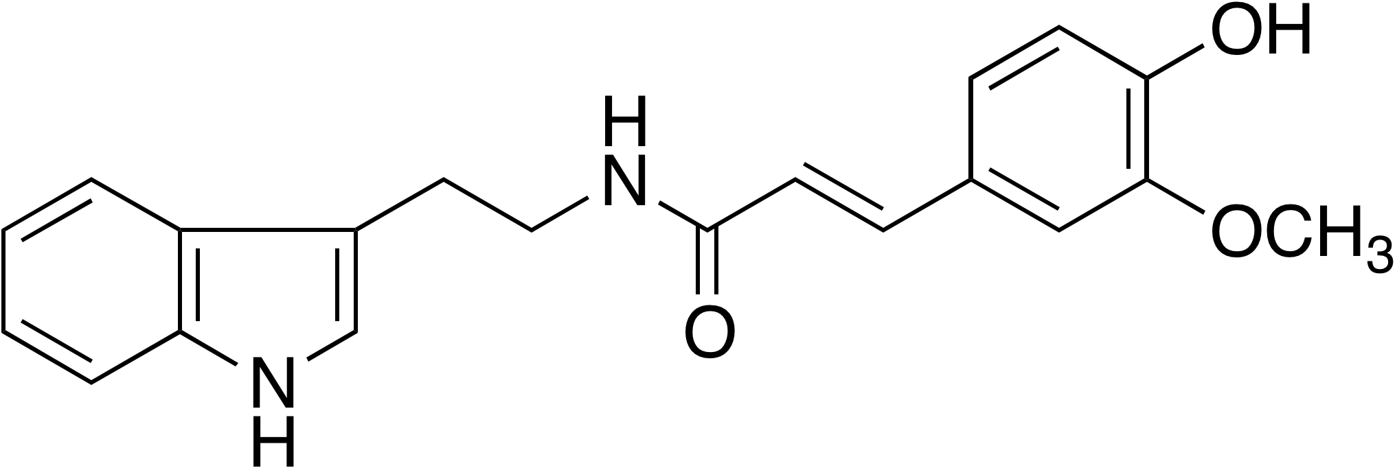 Nb-Feruloyltryptamine
