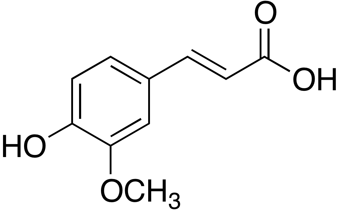 <em>trans</em>-Ferulic acid