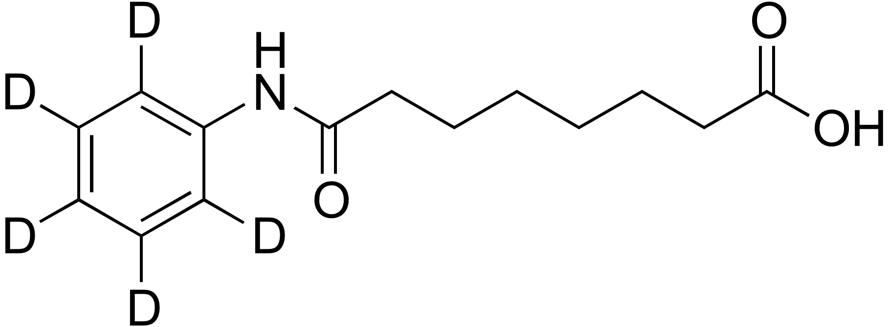 Suberanilic acid-d<sub>5</sub>