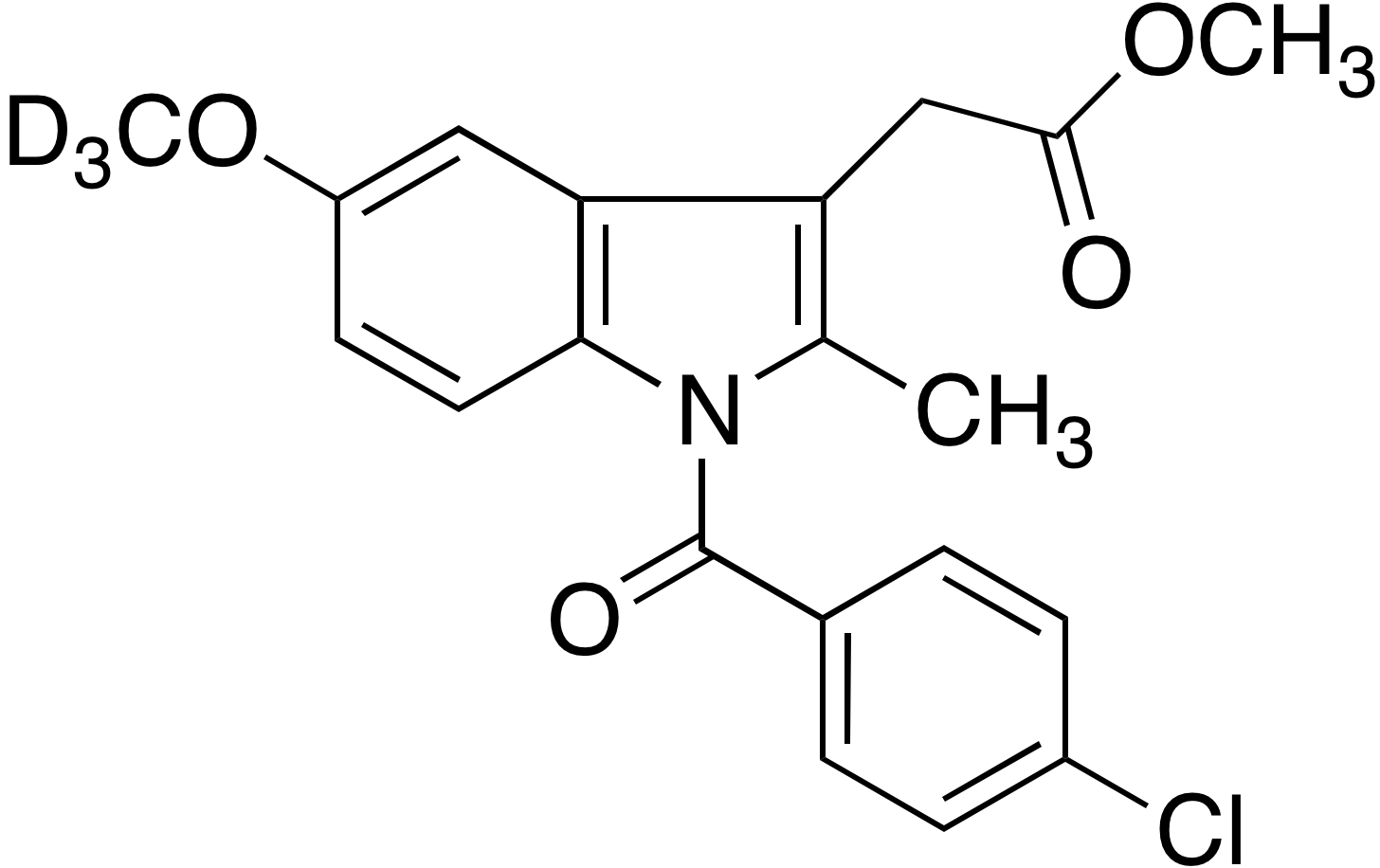 Indomethacin methyl ester-d<sub>3</sub>