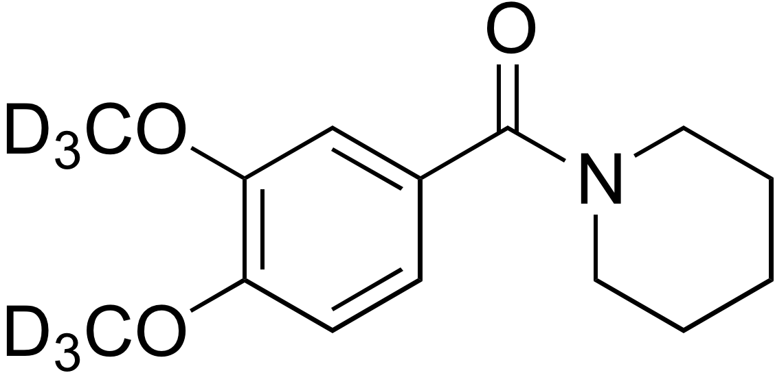 1-​(3,4-​Dimethoxy-d<sub>6</sub>-benzoyl)​piperidine