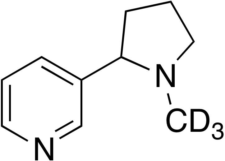rac-Nicotine-d<sub>3</sub>