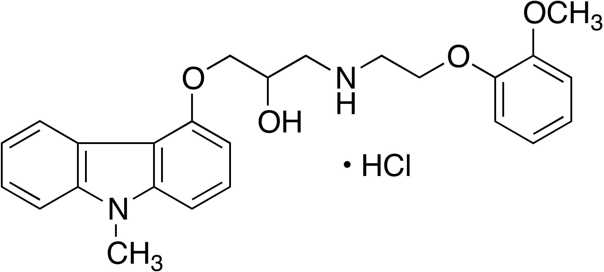 N-Methyl Carvedilol hydrochloride