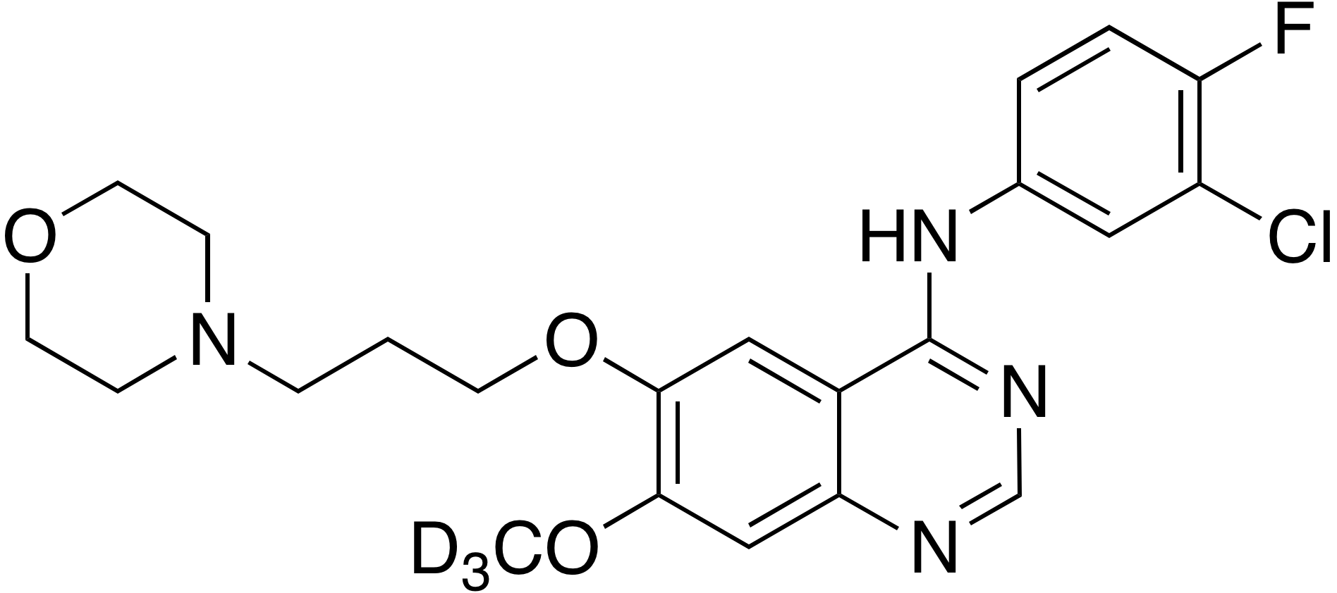 Gefitinib-d<sub>3</sub>