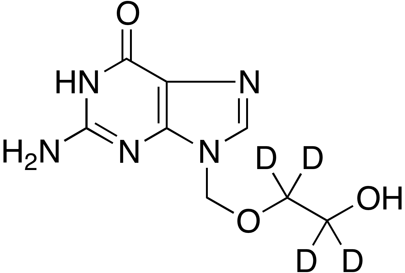 Acyclovir-d<sub>4</sub>