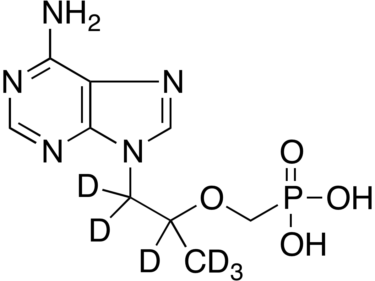 rac-Tenofovir-d<sub>6</sub>