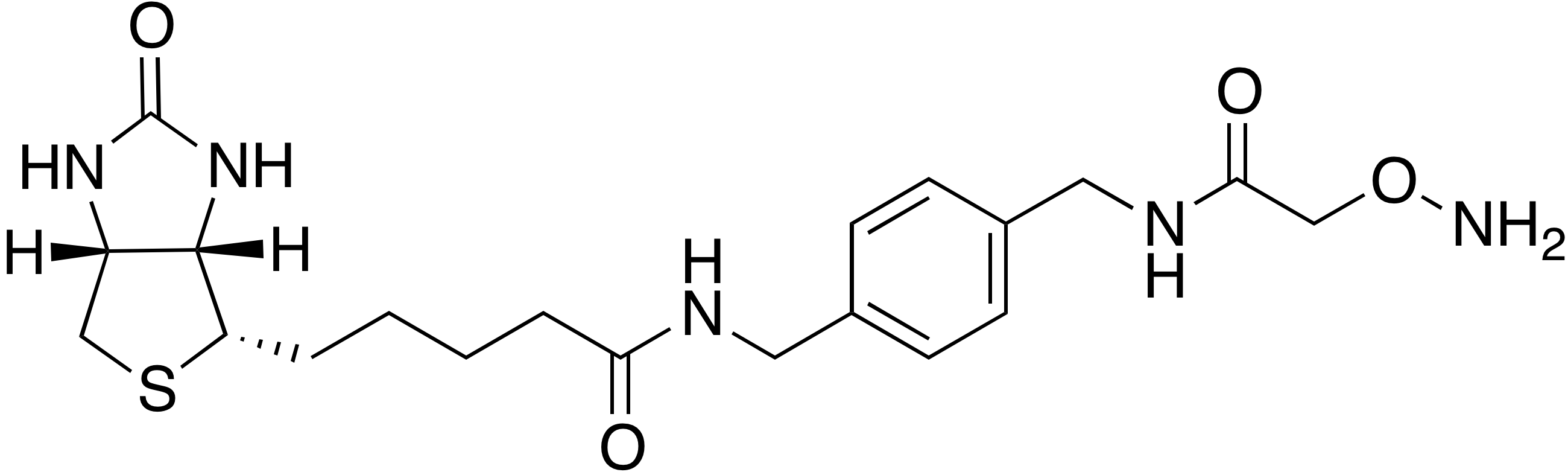 N-(4-(Aminoxyacetamidomethyl)benzyl)-biotinamide