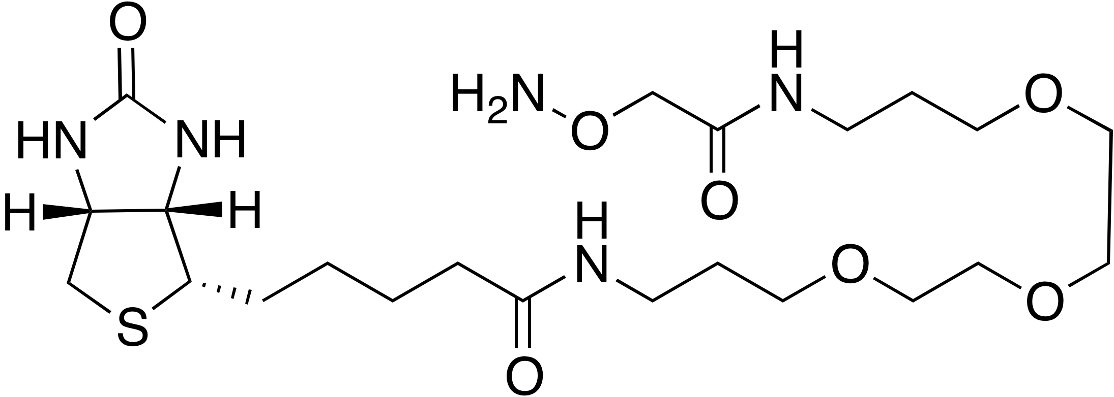 N-(1-(Aminooxy)-2-oxo-7,10,13-trioxa-3-azahexadecan-16-yl)-biotinamide
