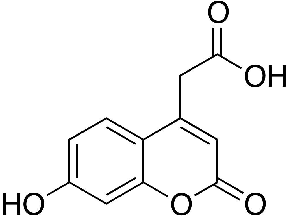 7-Hydroxycoumarin-4-acetic acid