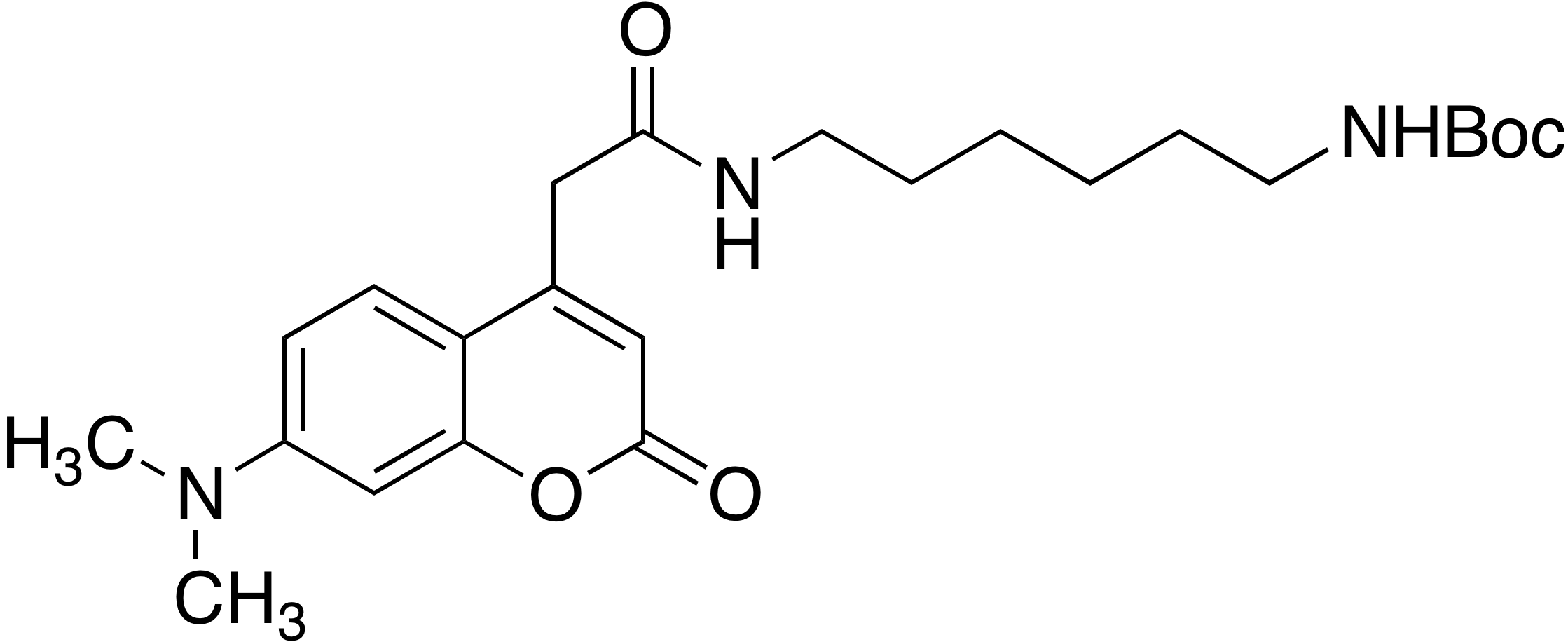 N-(6-Boc-aminohexyl)-7-dimethylaminocoumarin-4-acetamide