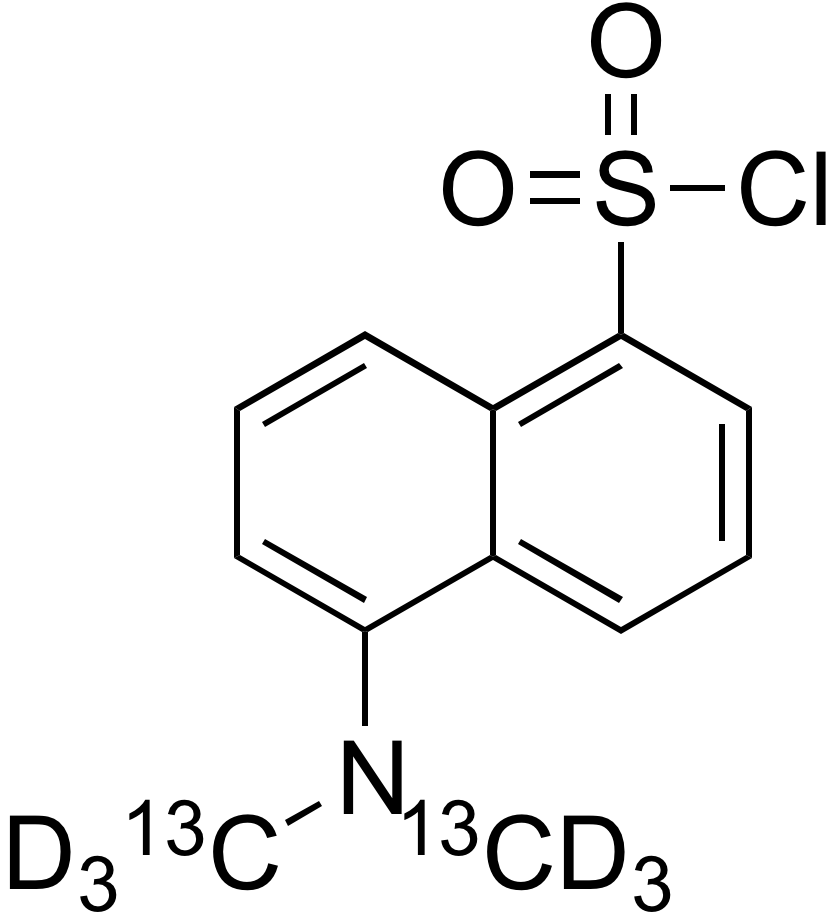 Dansyl-<sup>13</sup>C<sub>2</sub>,d<sub>6</sub> chloride