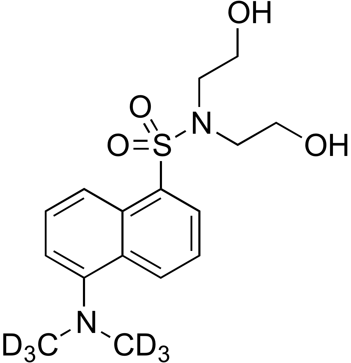 Dansyl-d<sub>6</sub> diethanolamine