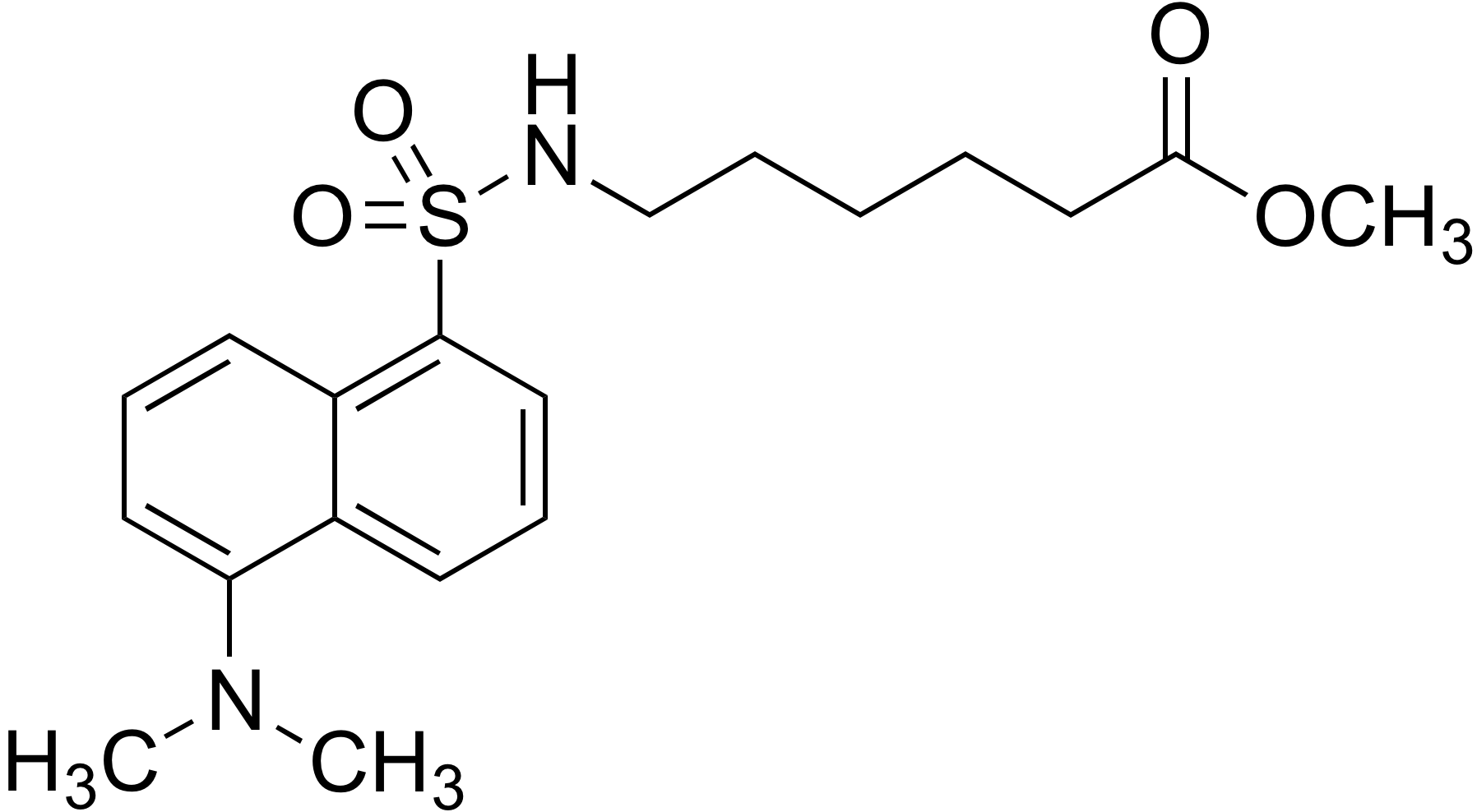 6-(Dansylamino)hexanoic acid methylester