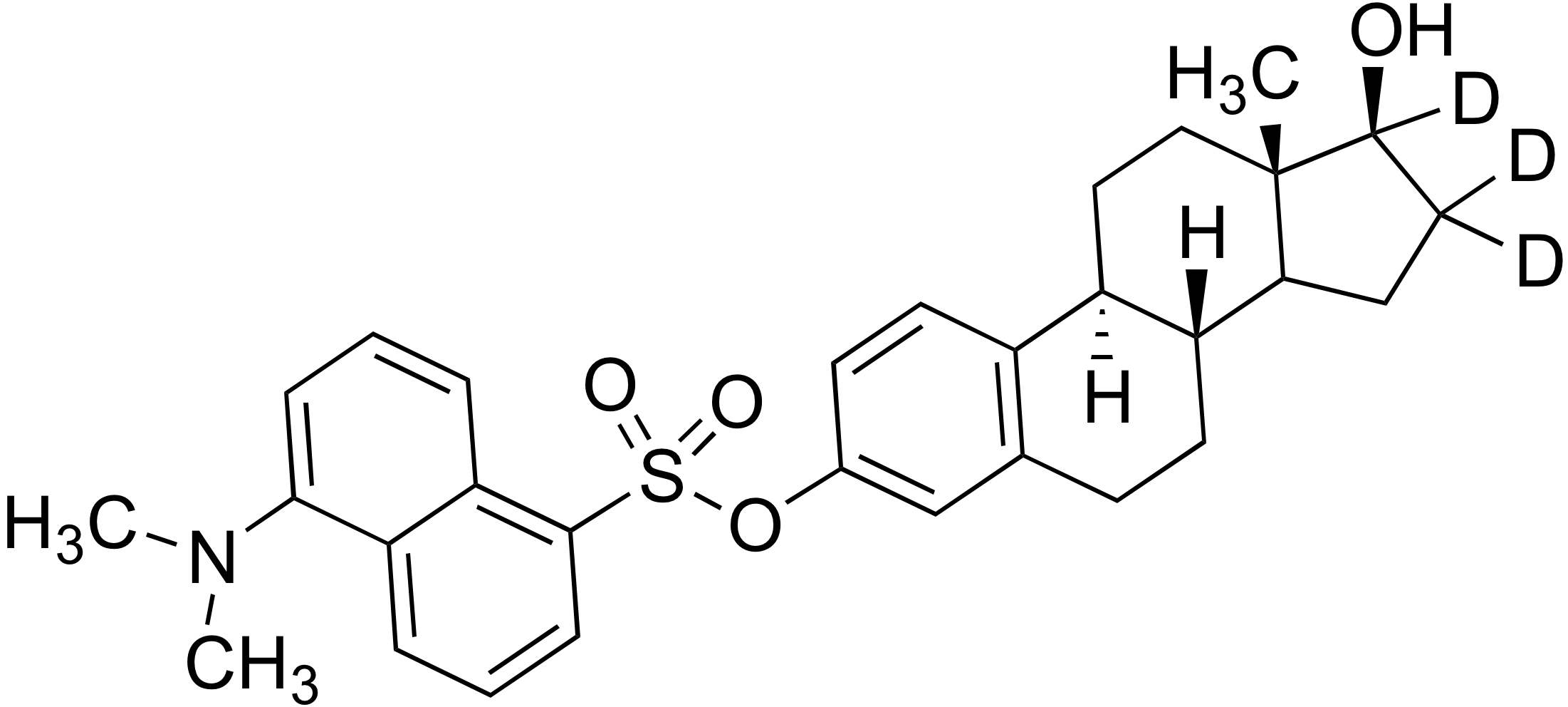 3-Dansyl estradiol-d<sub>3</sub>