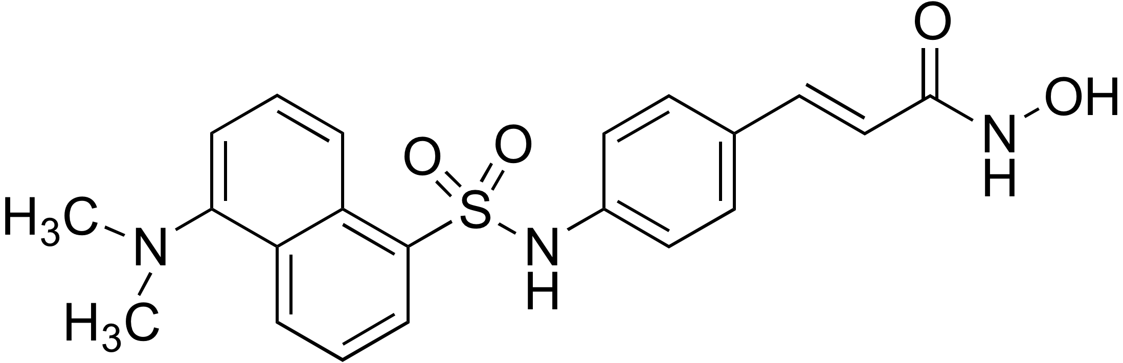 N-Hydroxy-3-[4-(dansylamino)phenyl]acrylamide