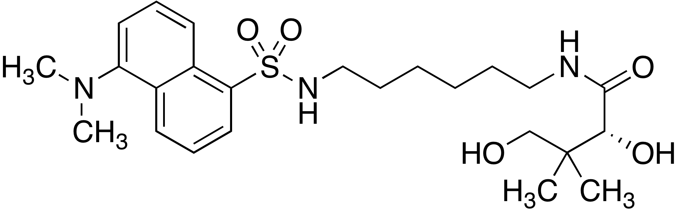 Dansyl-(R)-N-(6-aminohexyl)-2,4-dihydroxy-3,3-dimethylbutanamide