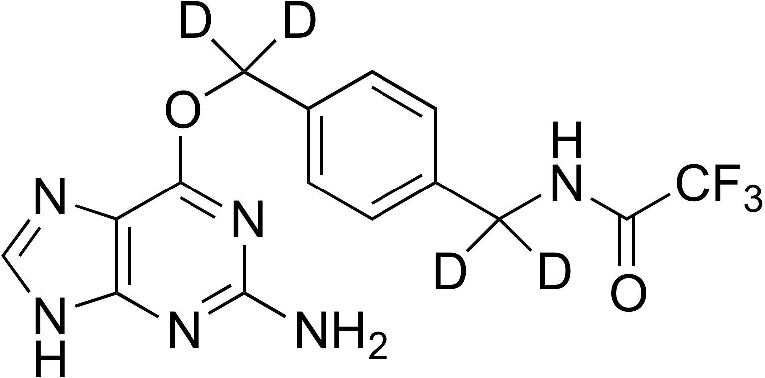 O6-[4-(Trifluoroacetamidomethyl-d<sub>2</sub>)benzyl-d<sub>2</sub>]guanine