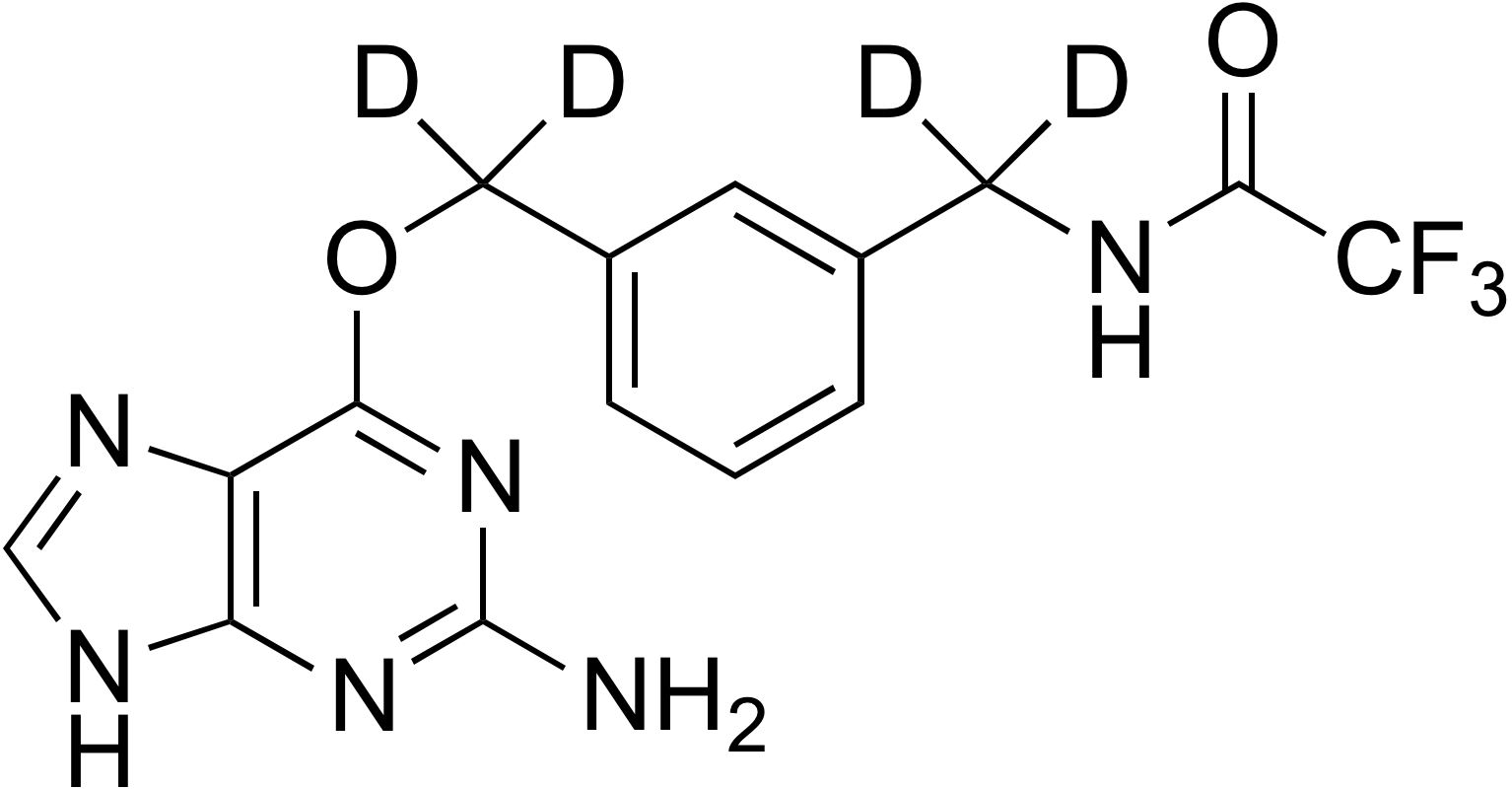O6-[3-(Trifluoroacetamidomethyl-d<sub>2</sub>)benzyl-d<sub>2</sub>]guanine